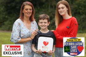 Generous teen, 19, donates defibrillator to boy, 11, who could die at any moment.jpg