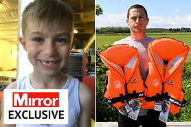 Father of boy who died drowning donates