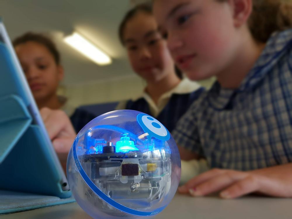 Sphero, coding, S.T.E.M