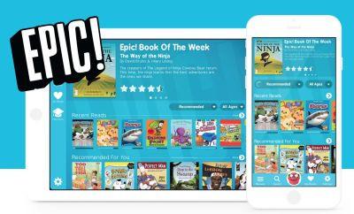 Epic' reading app for Digital Literacy