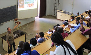 HHiSS giving training at UNZA