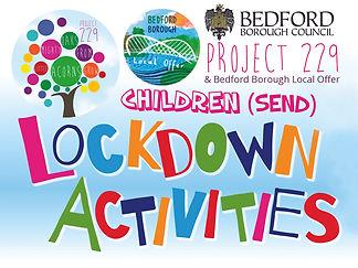 Local Offer Lockdown Activity Banner KID