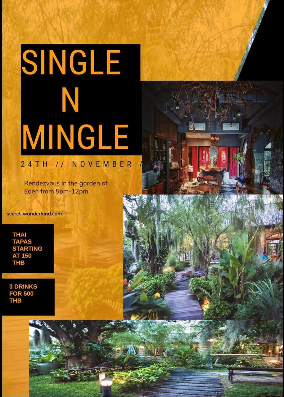 Single Mingle In The Garden