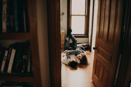 Kelsey + Tyler | In-home
