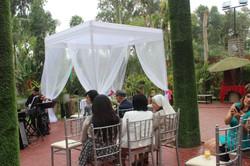 Toldo de Altar para matrimonio