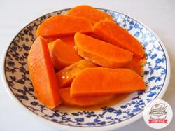 Camotito a la naranja