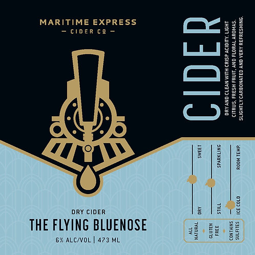 Flying Bluenose King Can