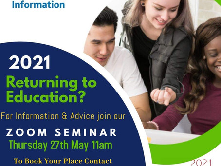 Citizens Information - Returning to Education?
