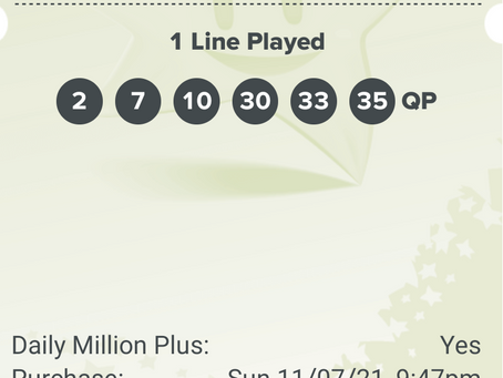 Millennium Centre Lotto Syndicate numbers