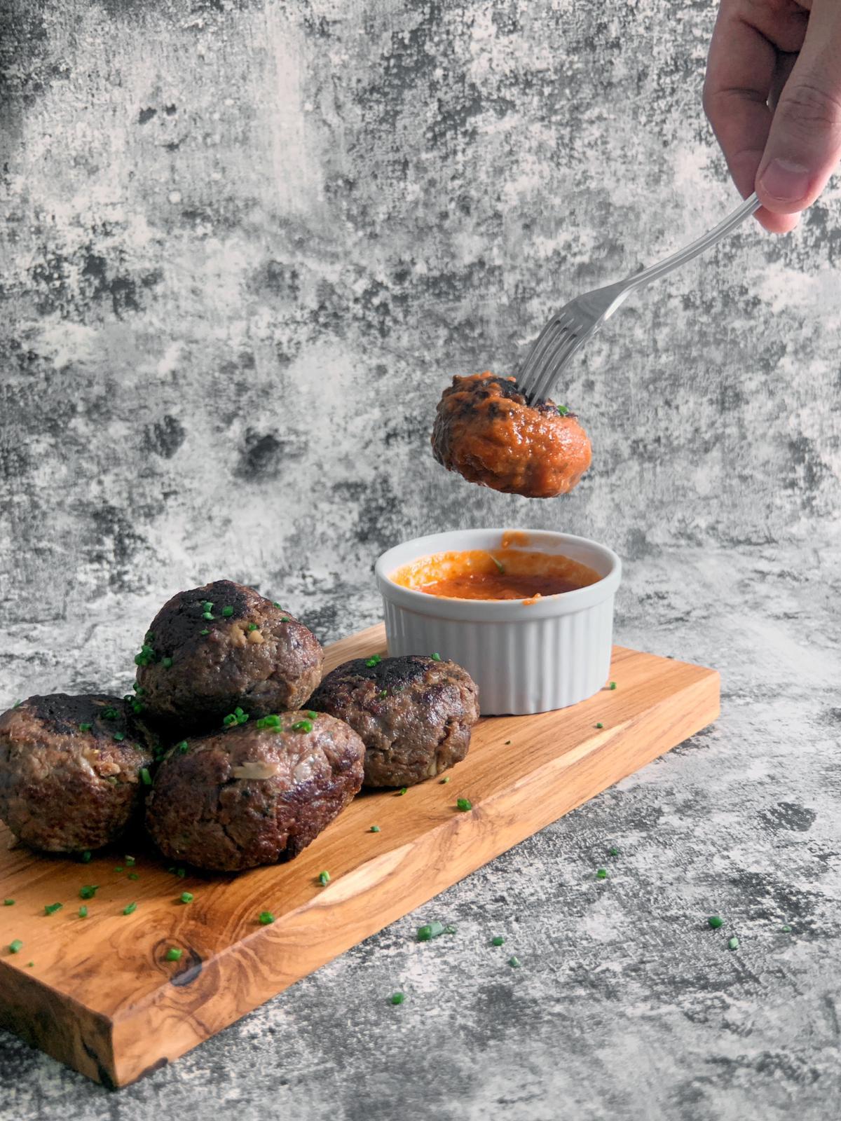 Homemade Beef Meatballs