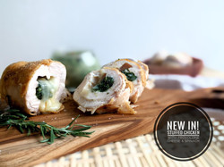 Stuffed Chicken with Provolone Cheese & Spinach