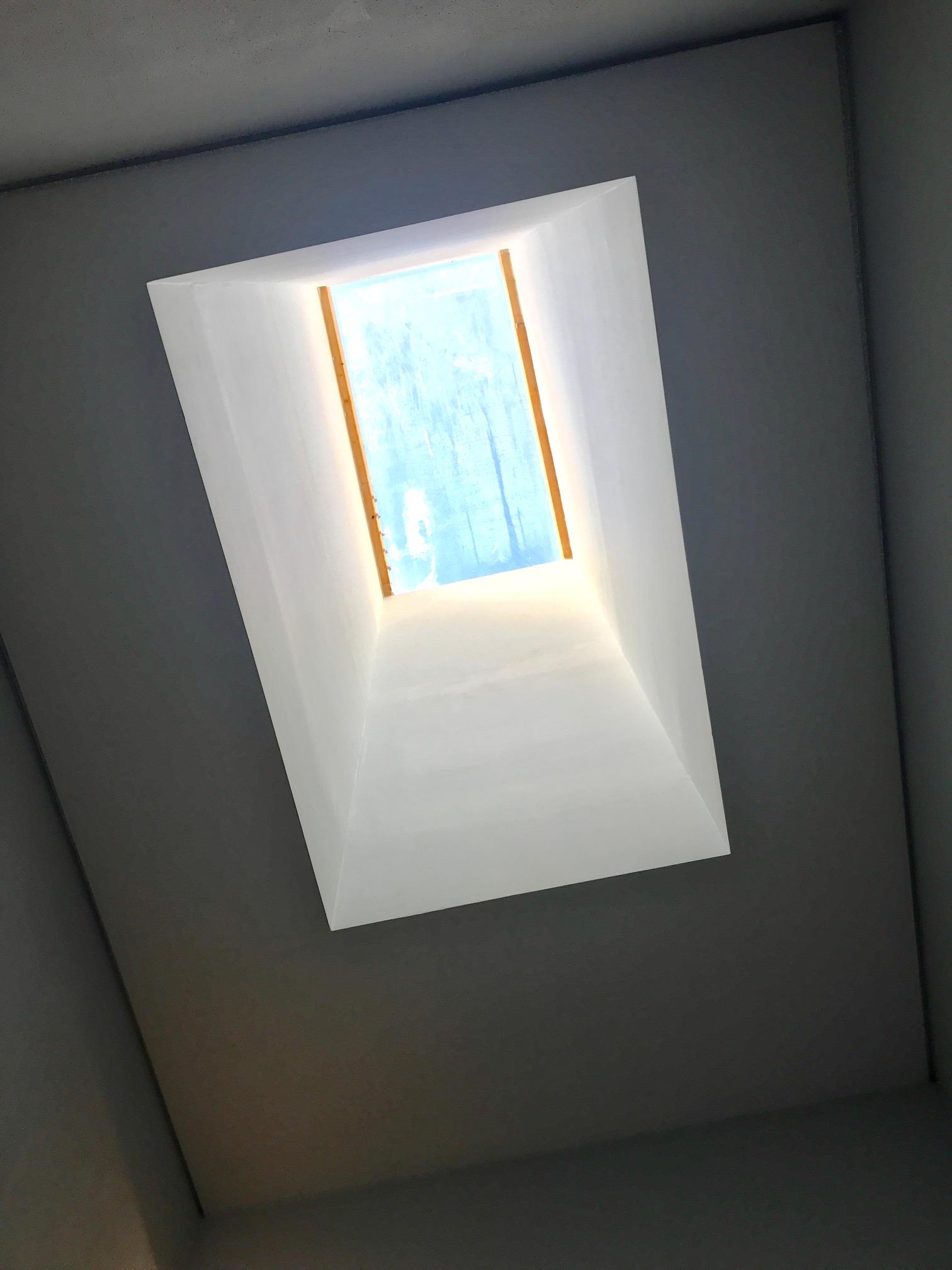 Claraboia da escada comum