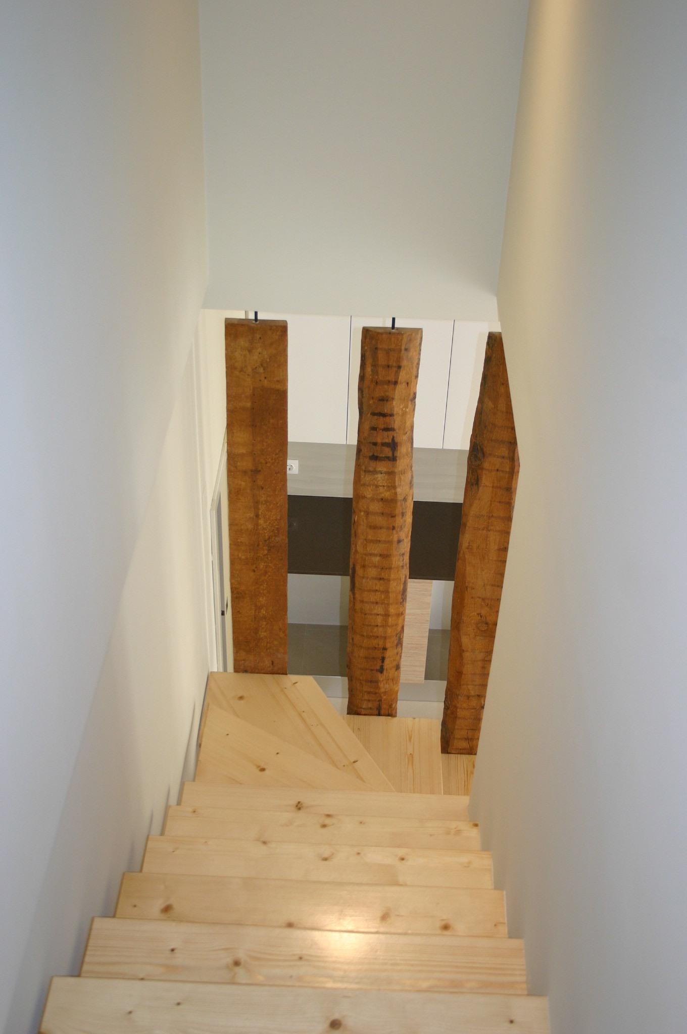 guarda de proteção da escada