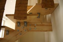 Pormenor da escada interior