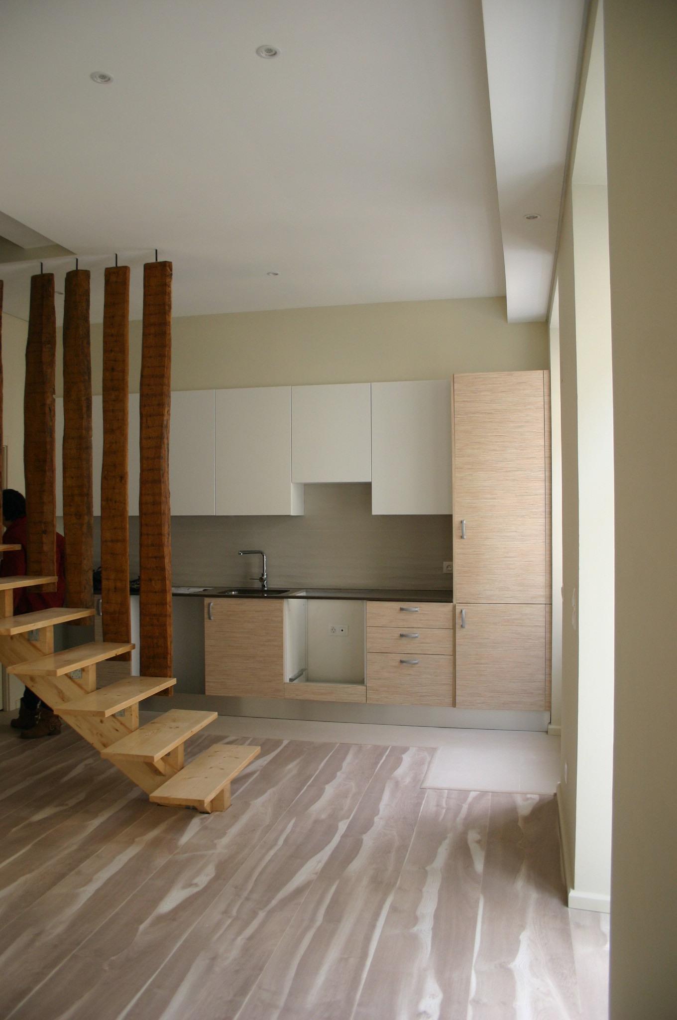 Vista interior cozinha
