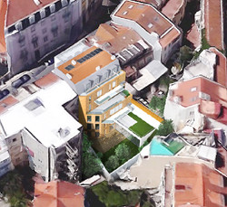 Vista aérea do Tardoz