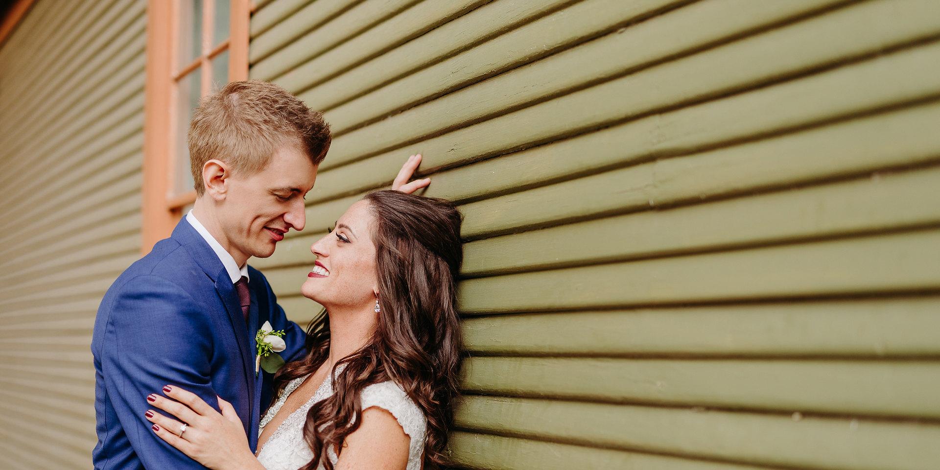 Alexandra + Ron Wedding