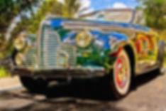 My vintage car photo. I love taking car
