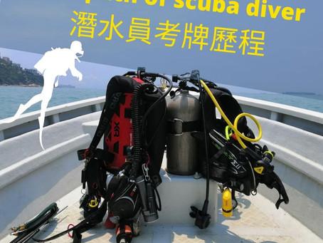 潛水考牌前必知: 各級潛水牌照介紹+考牌歷程