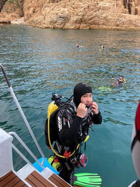 香港潛水地點適合香港潛水課程及船潛 fun dive hk