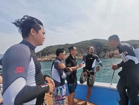 香港潛水地點適合香港潛水課程及船潛 fun dive hk SSI PRO