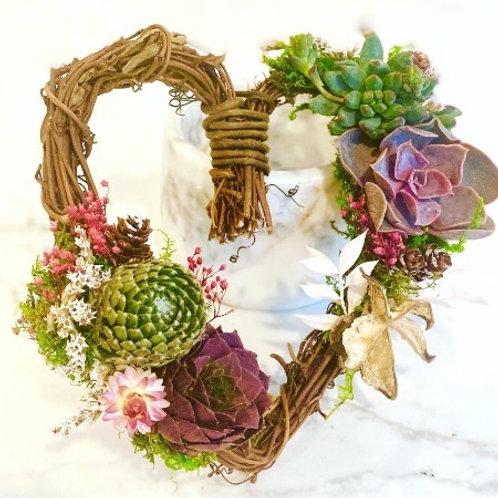 Grapevine Heart Wreath