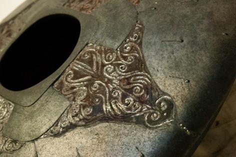 Four Sided Celtic Portal Detail