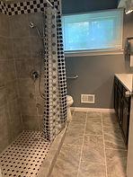memory care walk in shower