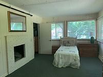 double suite with fire place
