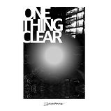 ONE THING CLEAR ALBUM COVER.JPG
