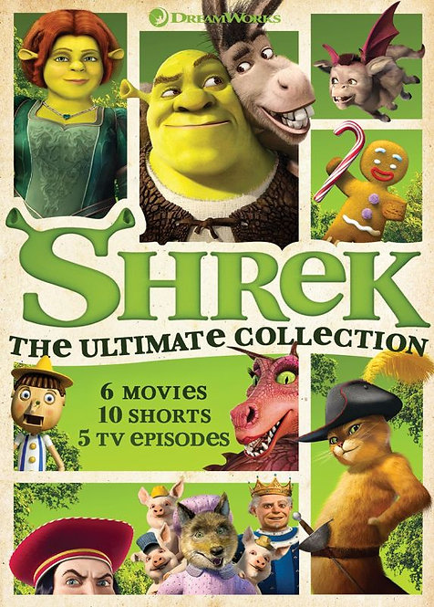 Shrek: The Ultimate Collection (Movies Anywhere HD)