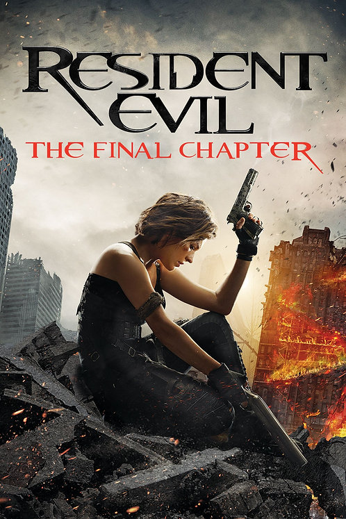 Resident Evil: The Final Chapter (Movies Anywhere HD)