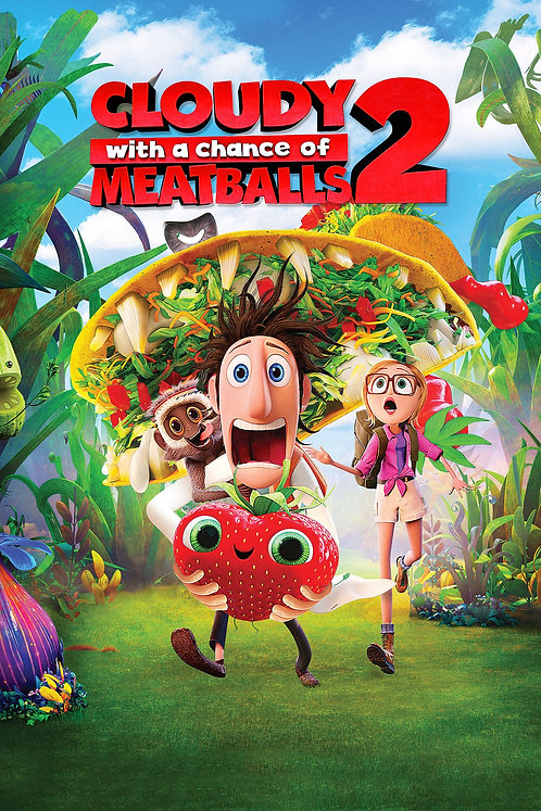 Cloudy With a Chance of Meatballs 2 (Movies Anywhere HD)