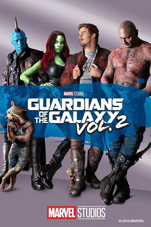 Guardians of the Galaxy Vol. 2 (iTunes 4K)