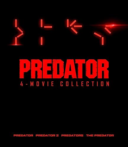 Predator 4-Movie Collection (Movies Anywhere HD)