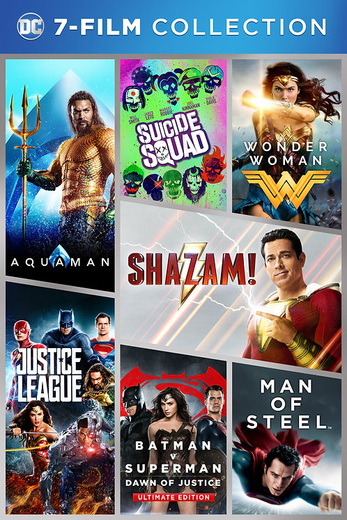 DC 7-Film Collection (Movies Anywhere 4K)