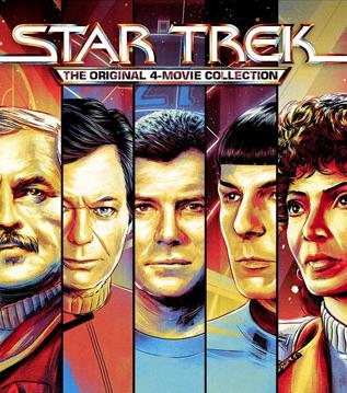Star Trek: The Original 4-Movie Collection (VUDU 4K)