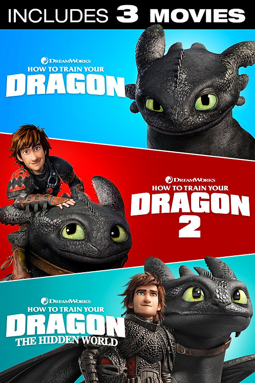How to Train Your Dragon 3-Movie Collection (Movies Anywhere HD)