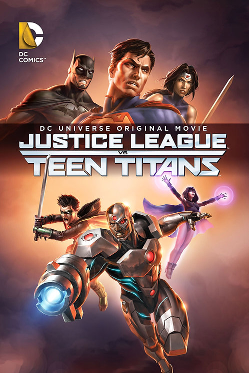 Justice League vs. Teen Titans (Movies Anywhere HD)