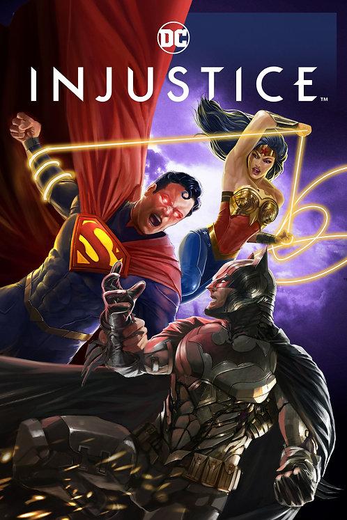 Injustice *PRE-ORDER* (VUDU 4K)