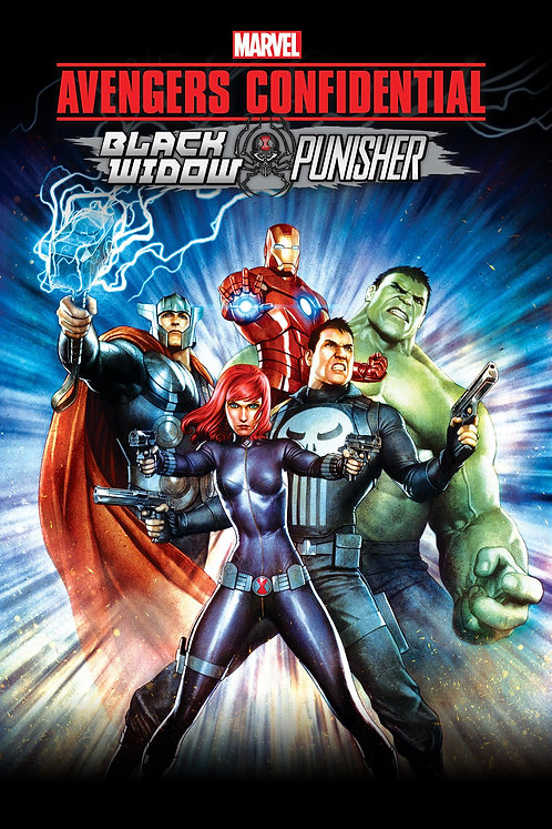 Avengers Confidential: Black Window & Punisher (Movies Anywhere SD)