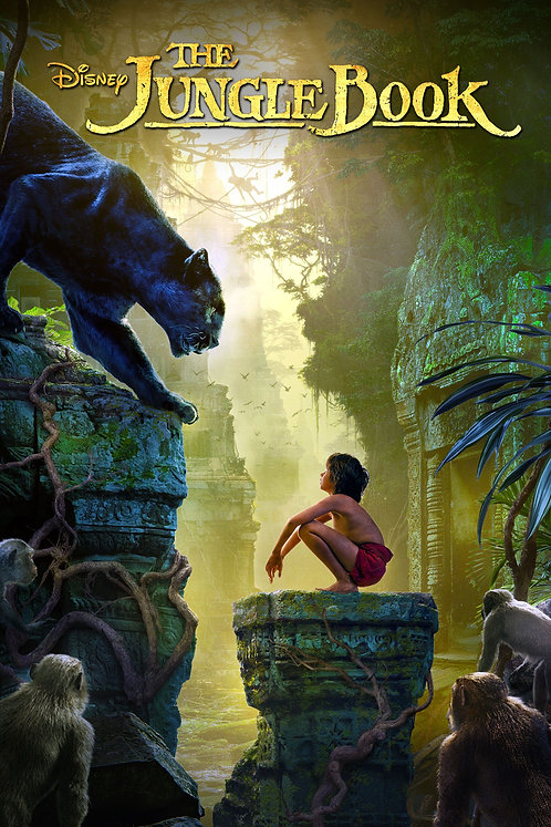 The Jungle Book 2016  (iTunes 4K)