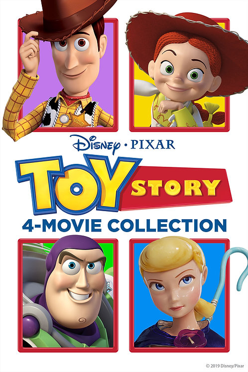 Toy Story 4-Movie Collection (Google Play HD)