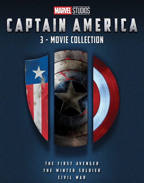 Captain America 3-Movie Collection (Google Play HD)