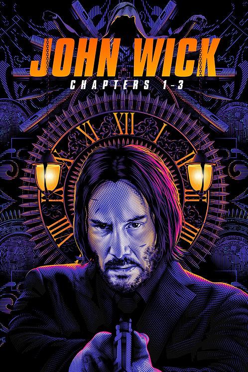 John Wick Chapters 1-3 (iTunes 4K)