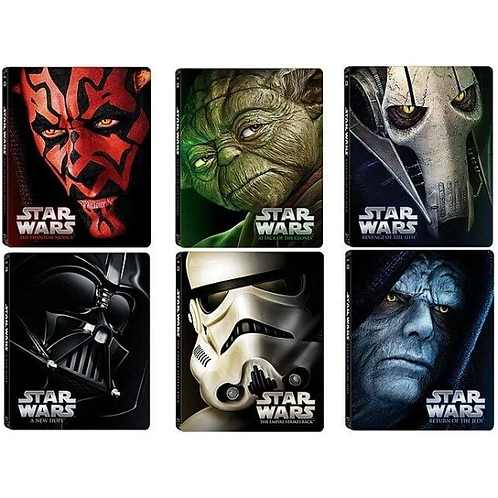 Star Wars Episode 1-6 (iTunes 4K)