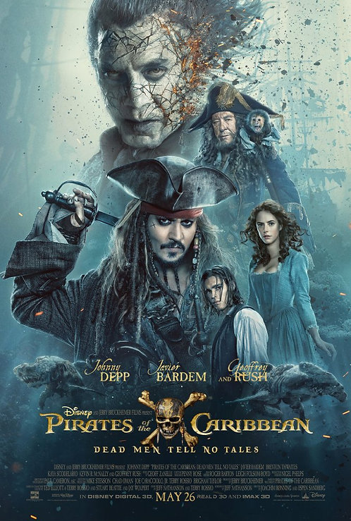 Pirates of the Carribean: Dead Men Tell no Tales (iTunes 4K)