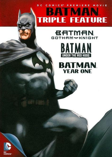 Batman Triple Feature (VUDU HDX)