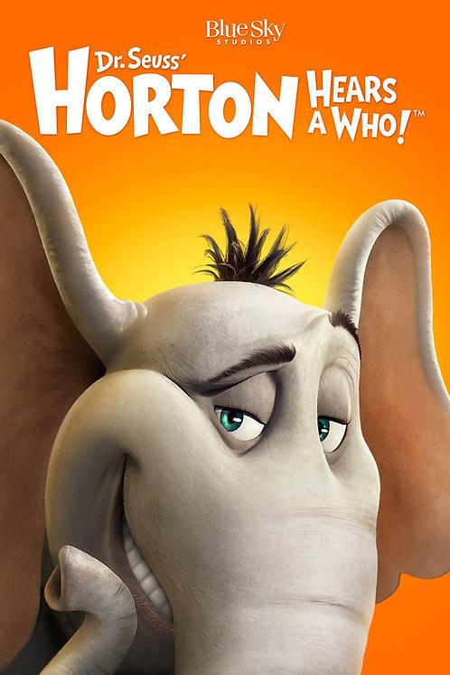 Horton Hears a Who! (Movies Anywhere HD)