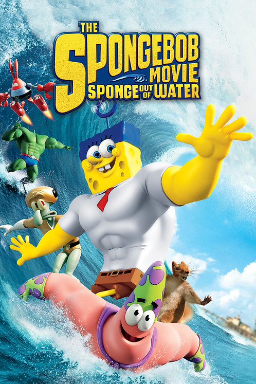 The Spongebob Movie: Out of The Water (iTunes HD)
